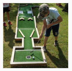 מיני גולף פסטיבל ירוק ולא רחוק